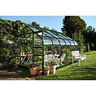 more details on Halls Supreme Toughened Glass 12 x 8ft Greenhouse with Base.