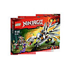 more details on LEGO Ninjago Titanium Dragon - 70748.