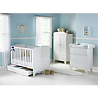 more details on BabyStart New Oxford 5 Piece Furniture Set - White.