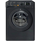 more details on Indesit XWDE75140XK 7KG 1400 Spin Washer Dryer - Black.