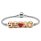 more details on Emoji 5 Bead Bracelet.