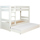 more details on Habitat Pongo White Kids Single 3 Sleeper Bunk Bed & Matress