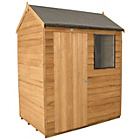 more details on Forest Overlap 6 x 4ft Shed with Base.
