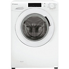 more details on Candy GV1610T3W 10KG 1600 Spin Washing Machine- White