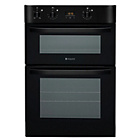 more details on Hotpoint DH53KS Double Multifunction Electric Fan Oven-Black
