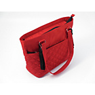 more details on Summer Infant Quilted Tote Bag - Red.
