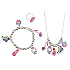 more details on Shopkins Necklace, Bracelet and Ring Set.