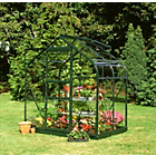 more details on Halls Supreme Glass 4 x 6ft Greenhouse with Base.