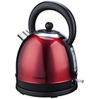 more details on Cookworks Traditional Stainless Steel Kettle - Red.