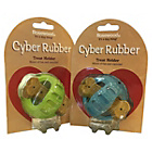 more details on Cyber Rubber & Bounce Dog Treat Holder - 2 Pack.