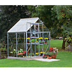 more details on Halls Popular Toughened Glass 4 x 6ft Greenhouse with Base.