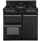 more details on Belling Classic 90DFT Dual Fuel Range Cooker - Black.