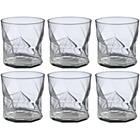 more details on Habitat Cassiopea Clear Tumbler Set of 6 32cl