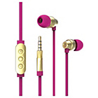 more details on Ted Baker Dover In Ear Headphones - Pink.