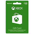 more details on Xbox Live £50 Gift Card.