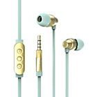 more details on Ted Baker Dover In-Ear Headphones - Mint and Gold.