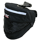 more details on M Wave Expanding Seat Bag - Black.