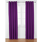 more details on ColourMatch Lima Eyelet Curtains - 168x183cm - Purple Fizz.
