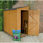 more details on Forest Shiplap Apex 6 x 3ft Shed.