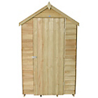 Forest Overlap Apex 4 x 6ft Windowless Shed
