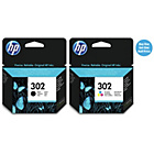 more details on HP 302 Black/Tri-Colour Ink Cartridge Pack.