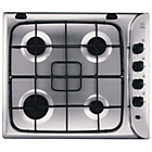 more details on Indesit PIM640ASIX Gas Hob - Stainless Steel.