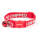more details on I Am Microchipped Cat Collar - Pack of 3.