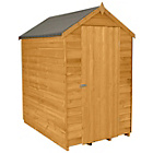 Forest Overlap 6 x 4ft Windowless Shed