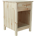 more details on Kids Scandinavia Bedside Chest - Pine.