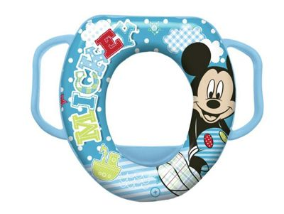 Mickey Mouse Soft Padded Toilet Seat