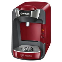 Bosch TAS3203GB 1300W Tassimo Suny Coffee Machine (Red)