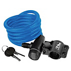 more details on Ventura Spiral Cable Lock with Bracket - Blue.