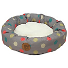 more details on Petface Multi Dot Pet Donut Bed.