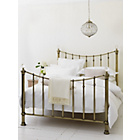 more details on Schreiber Oborne Metal Double Bed Frame - Brass/Crystal.