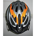more details on HEL5SO Adult Helmet - Silver and Orange.