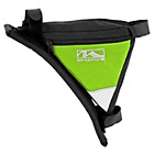 more details on M Wave Frame Corner Triangle Bag - Green.
