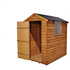 Forest Overlap Apex 6 x 4ft Shed with EZFIT Roof