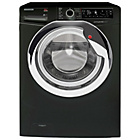 more details on Hoover DXP410AIB3 10KG 1400 Spin Washing Machine- Black