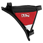 more details on M Wave Frame Corner Triangle Bag - Red.