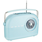 more details on Bush Retro DAB Radio - Cornflower Blue.