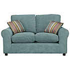 more details on Taylor Small Fabric Sofa - Blue.