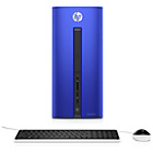more details on HP Pavillion 550 AMD A10 8GB 2TB 128GB SSD Desktop PC - Blue