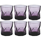 more details on Habitat Cassiopea Purple Tumber Set of 6 32cl