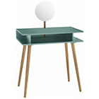 more details on Habitat Cato Sage Green Dressing Table with Mirror