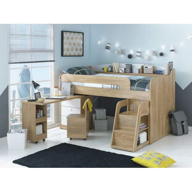 Who Buys Furniture: Buy Collection Ultimate Storage Midsleeper Bed