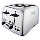more details on De'Longhi Argento 4 Slice Toaster - Stainless Steel.