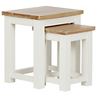 more details on Schreiber Lulworth Nest of Tables - Natural.