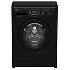 more details on Beko WMB71343B 7KG 1300 Spin Washing Machine - Black.
