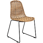 more details on Habitat Mickey Synthetic Rattan Dining Chair