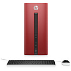 more details on HP Pavillion 550 AMD A8 8GB 1TB Desktop PC - Red.